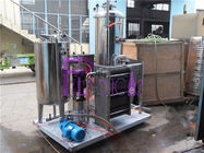 Industrial Coke Cola Carbonated Drink Mixer Machine With 3000L Three Tanks