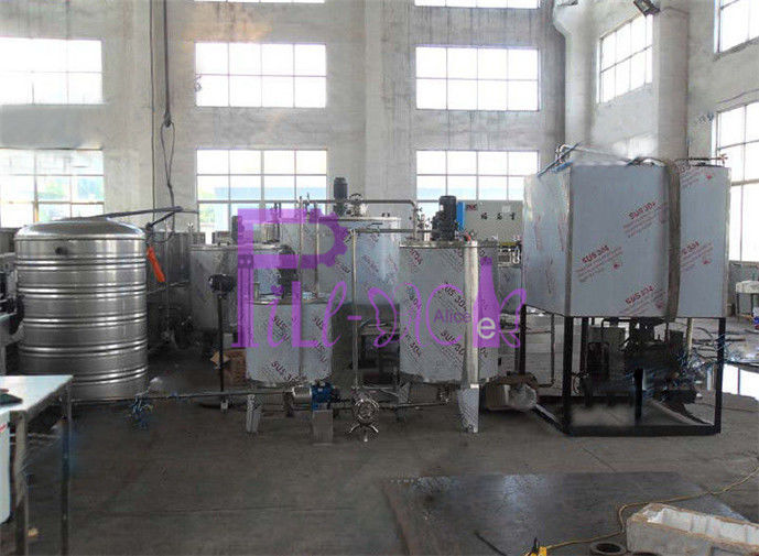 Electric Carbonated Drink Production Line Beer Beverage Making Machine